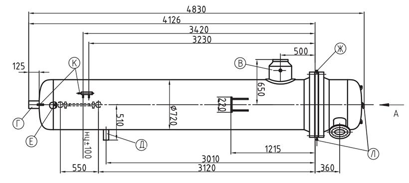 Подогреватель сетевой воды ПСВ 315-14-15 Пенза Кожухотрубный жидкостный ресивер ONDA RL 20 Азов