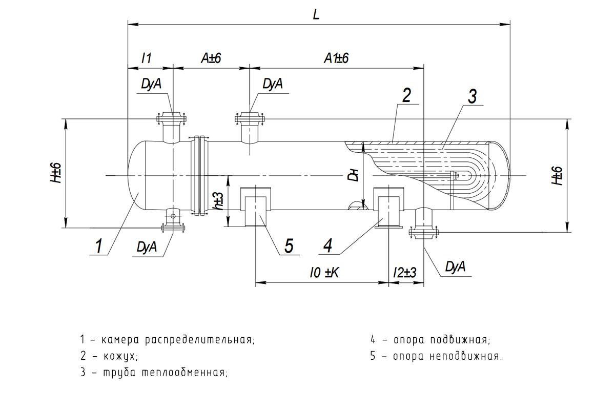 Кожухотрубчатый теплообменник с u образными трубками бассейн завода теплообменник нижний новгород