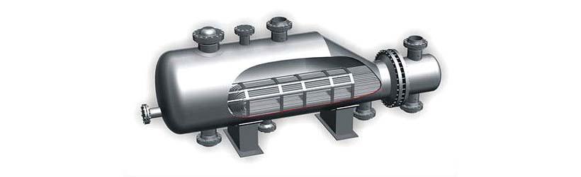 Холодильник кожухотрубный (кожухотрубчатый) типа ХКВ Рыбинск Кожухотрубный испаритель Alfa Laval DXS 235R Чайковский